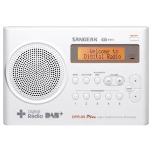 Radio DPR-69+ Wit