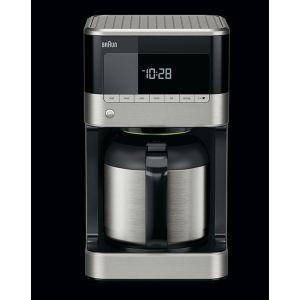 Braun KF 7125 Vrijstaand Filterkoffiezetapparaat Zwart, Roestvrijstaal 1,25 l 10 kopjes