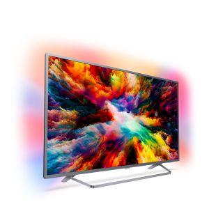 Philips 7300 series Ultraslanke 4K UHD LED Android TV 55PUS7303/12