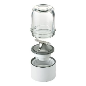 Multi Mill, 4 glass jars with 3 lids, removable blades