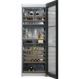 Wijnklimaatkast KWT 6834 SGS Roestvrij staal