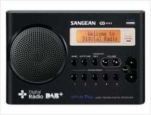 Radio DPR-69+ zwart
