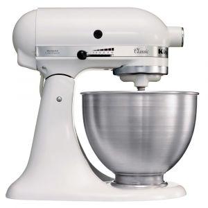 KitchenAid Classic Mixer-Keukenrobot 5K45SSEWH Wit