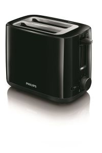 Philips Daily collection Broodrooster HD2595/90 Zwart