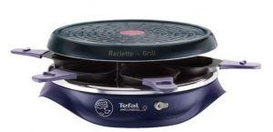Tefal RE506412 6persoon/personen 850W Blauw raclette