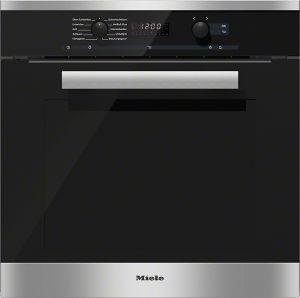 Miele H 6260 B Elektrische oven 76l A+ Zwart, Roestvrijstaal oven