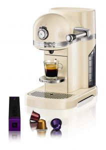 KitchenAid Artisan Nespresso 5KES0503EAC Amandel wit