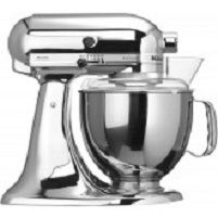KitchenAid Artisan 300W 4.8l Chroom keukenmachine