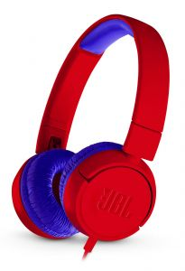 JBL JR300 Blauw, Rood Circumaural Hoofdband koptelefoon