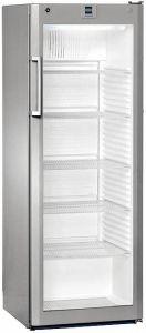 Flessen koelkast FKVSL3613-21 Zilver met glasdeur