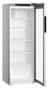 Flessen koelkast MRFvd 3511  Staalgrijs met glazendeur