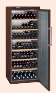 Wijnbewaarkast WKT6451 met volle deur