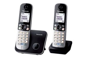 Telefoon Draadloos KXTG6812BLB Set 2 stuks