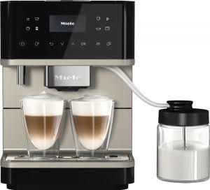 Koffiemachine CM6360 Obsidiaanzwart - Cleansteel Metallic