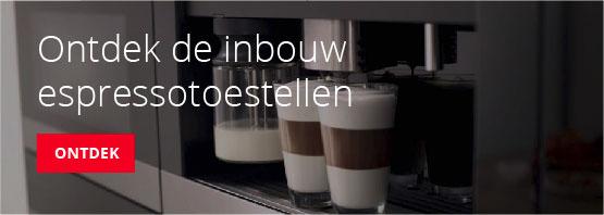 Ontdek de koffietoestellen